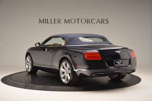 Used 2012 Bentley Continental GTC for sale Sold at Alfa Romeo of Greenwich in Greenwich CT 06830 18