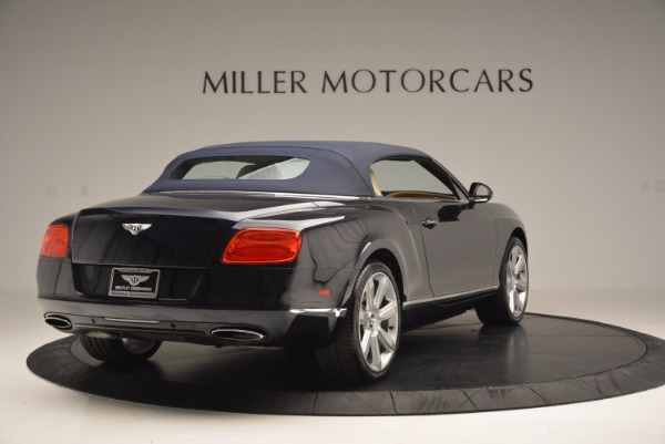 Used 2012 Bentley Continental GTC for sale Sold at Alfa Romeo of Greenwich in Greenwich CT 06830 20