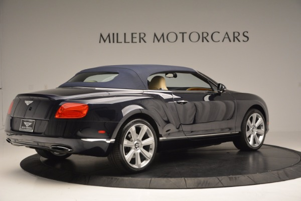 Used 2012 Bentley Continental GTC for sale Sold at Alfa Romeo of Greenwich in Greenwich CT 06830 21