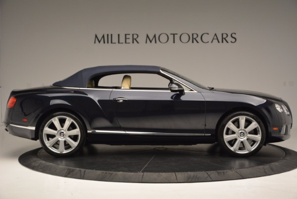 Used 2012 Bentley Continental GTC for sale Sold at Alfa Romeo of Greenwich in Greenwich CT 06830 22