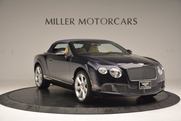 Used 2012 Bentley Continental GTC for sale Sold at Alfa Romeo of Greenwich in Greenwich CT 06830 24