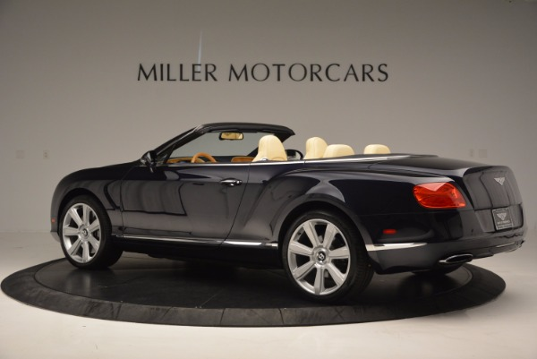 Used 2012 Bentley Continental GTC for sale Sold at Alfa Romeo of Greenwich in Greenwich CT 06830 4
