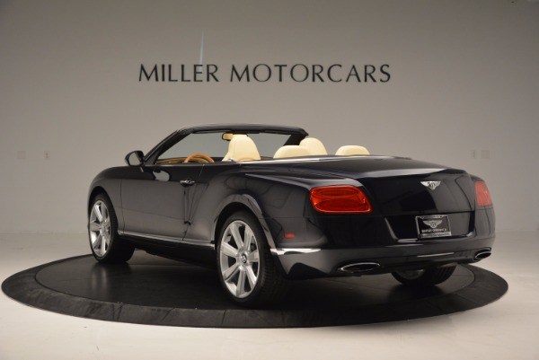 Used 2012 Bentley Continental GTC for sale Sold at Alfa Romeo of Greenwich in Greenwich CT 06830 5