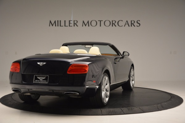 Used 2012 Bentley Continental GTC for sale Sold at Alfa Romeo of Greenwich in Greenwich CT 06830 7