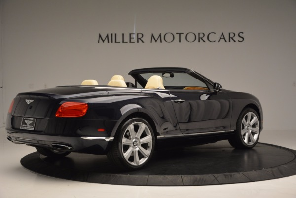 Used 2012 Bentley Continental GTC for sale Sold at Alfa Romeo of Greenwich in Greenwich CT 06830 8