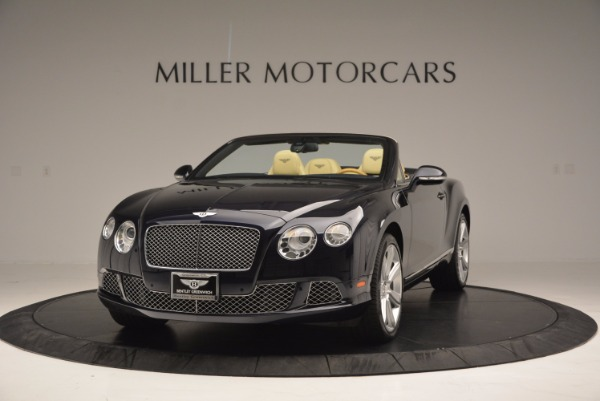 Used 2012 Bentley Continental GTC for sale Sold at Alfa Romeo of Greenwich in Greenwich CT 06830 1