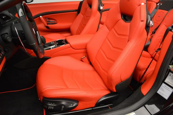 New 2016 Maserati GranTurismo Convertible MC for sale Sold at Alfa Romeo of Greenwich in Greenwich CT 06830 22