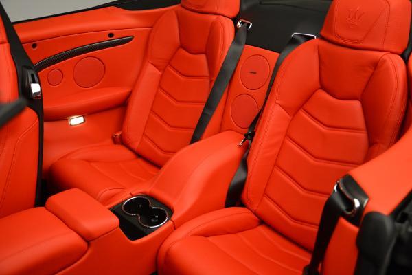 New 2016 Maserati GranTurismo Convertible MC for sale Sold at Alfa Romeo of Greenwich in Greenwich CT 06830 25
