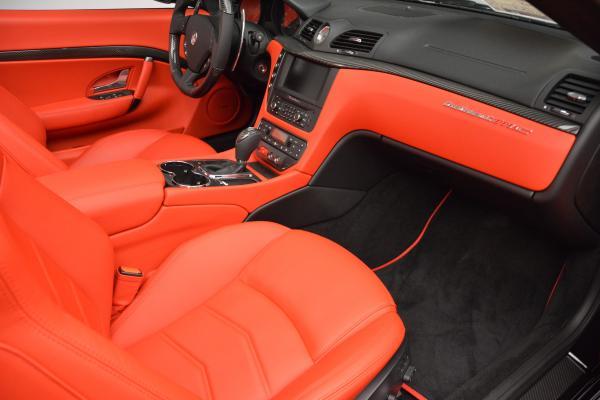 New 2016 Maserati GranTurismo Convertible MC for sale Sold at Alfa Romeo of Greenwich in Greenwich CT 06830 26