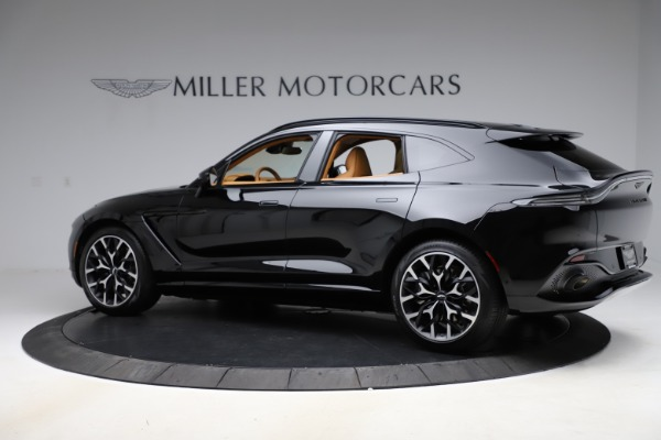 New 2020 Aston Martin DBX SUV for sale Call for price at Alfa Romeo of Greenwich in Greenwich CT 06830 3