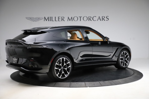 New 2020 Aston Martin DBX SUV for sale Call for price at Alfa Romeo of Greenwich in Greenwich CT 06830 7
