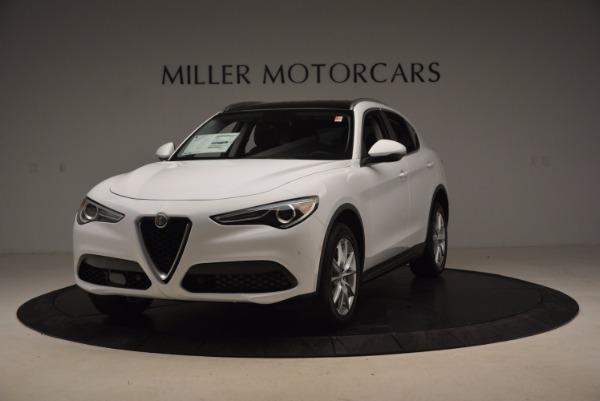 New 2018 Alfa Romeo Stelvio Ti Q4 for sale Sold at Alfa Romeo of Greenwich in Greenwich CT 06830 1
