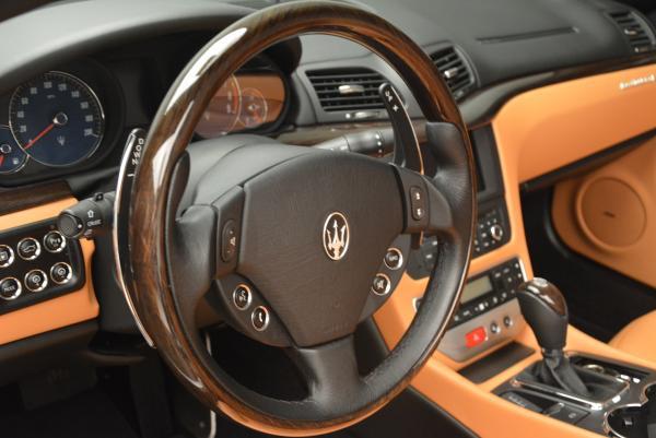 Used 2012 Maserati GranTurismo for sale Sold at Alfa Romeo of Greenwich in Greenwich CT 06830 24