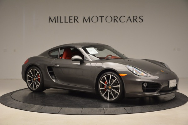 Used 2014 Porsche Cayman S S for sale Sold at Alfa Romeo of Greenwich in Greenwich CT 06830 10