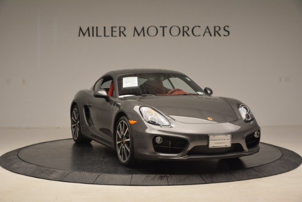 Used 2014 Porsche Cayman S S for sale Sold at Alfa Romeo of Greenwich in Greenwich CT 06830 11