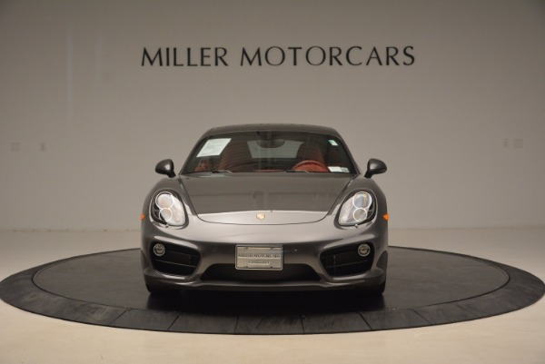 Used 2014 Porsche Cayman S S for sale Sold at Alfa Romeo of Greenwich in Greenwich CT 06830 12
