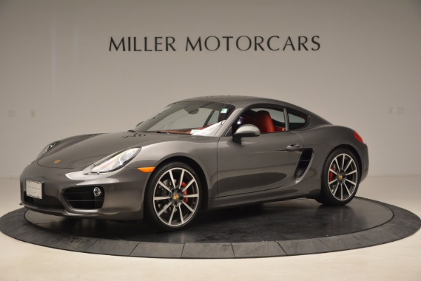 Used 2014 Porsche Cayman S S for sale Sold at Alfa Romeo of Greenwich in Greenwich CT 06830 2
