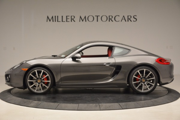 Used 2014 Porsche Cayman S S for sale Sold at Alfa Romeo of Greenwich in Greenwich CT 06830 3