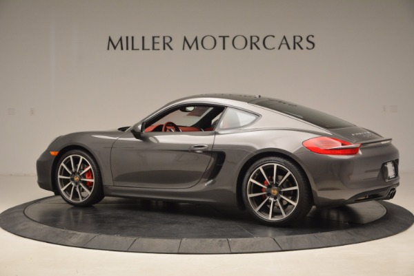 Used 2014 Porsche Cayman S S for sale Sold at Alfa Romeo of Greenwich in Greenwich CT 06830 4
