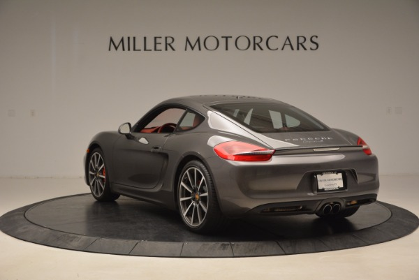 Used 2014 Porsche Cayman S S for sale Sold at Alfa Romeo of Greenwich in Greenwich CT 06830 5