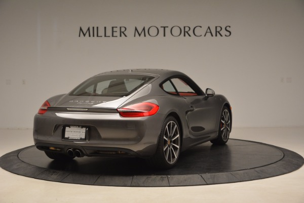 Used 2014 Porsche Cayman S S for sale Sold at Alfa Romeo of Greenwich in Greenwich CT 06830 7