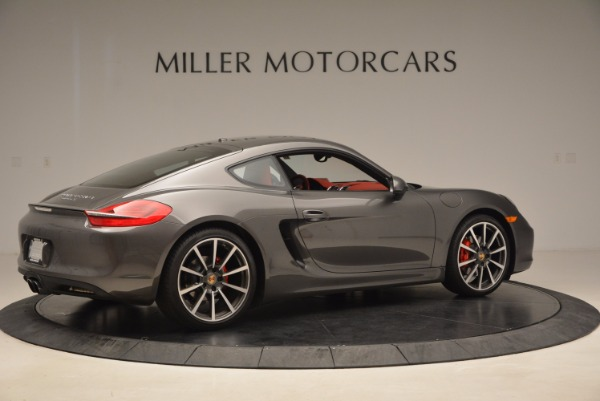 Used 2014 Porsche Cayman S S for sale Sold at Alfa Romeo of Greenwich in Greenwich CT 06830 8