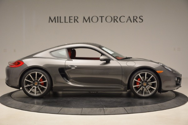 Used 2014 Porsche Cayman S S for sale Sold at Alfa Romeo of Greenwich in Greenwich CT 06830 9