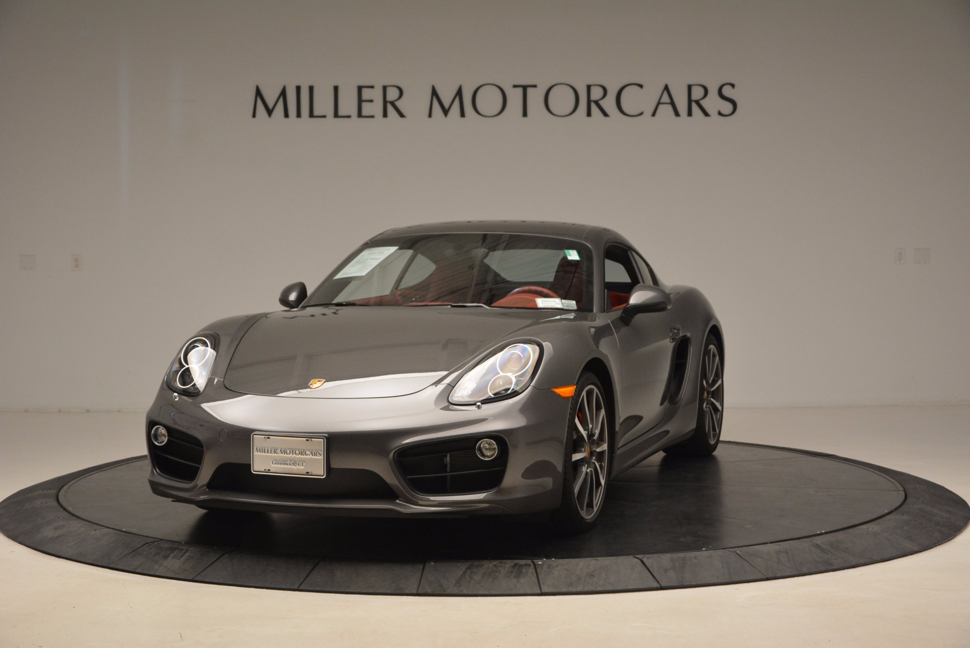 Used 2014 Porsche Cayman S S for sale Sold at Alfa Romeo of Greenwich in Greenwich CT 06830 1