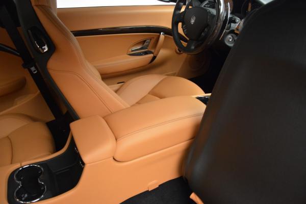 New 2016 Maserati GranTurismo Sport for sale Sold at Alfa Romeo of Greenwich in Greenwich CT 06830 24