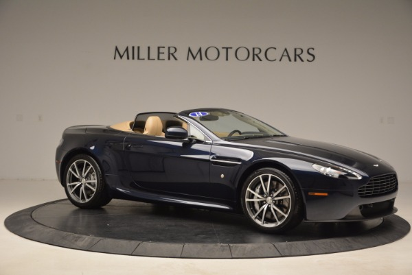 Used 2014 Aston Martin V8 Vantage Roadster for sale Sold at Alfa Romeo of Greenwich in Greenwich CT 06830 10
