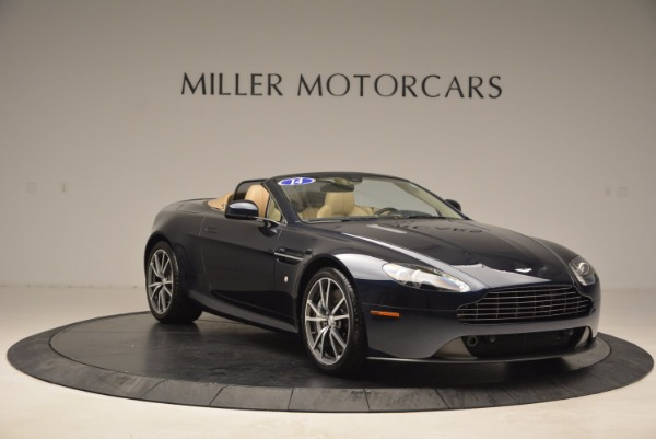Used 2014 Aston Martin V8 Vantage Roadster for sale Sold at Alfa Romeo of Greenwich in Greenwich CT 06830 11