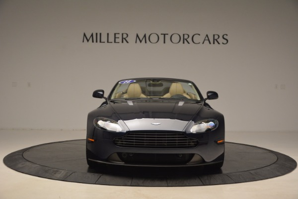 Used 2014 Aston Martin V8 Vantage Roadster for sale Sold at Alfa Romeo of Greenwich in Greenwich CT 06830 12