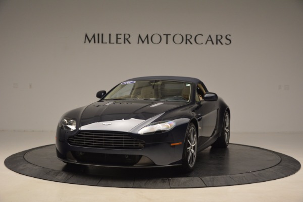 Used 2014 Aston Martin V8 Vantage Roadster for sale Sold at Alfa Romeo of Greenwich in Greenwich CT 06830 13