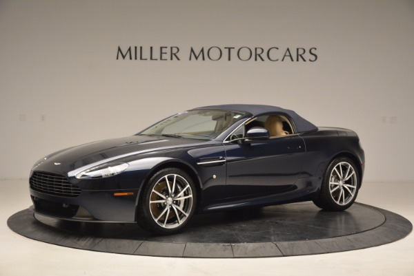 Used 2014 Aston Martin V8 Vantage Roadster for sale Sold at Alfa Romeo of Greenwich in Greenwich CT 06830 14