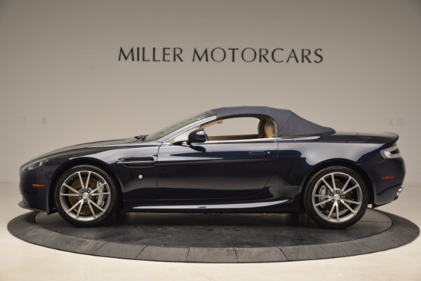Used 2014 Aston Martin V8 Vantage Roadster for sale Sold at Alfa Romeo of Greenwich in Greenwich CT 06830 15