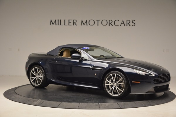Used 2014 Aston Martin V8 Vantage Roadster for sale Sold at Alfa Romeo of Greenwich in Greenwich CT 06830 17
