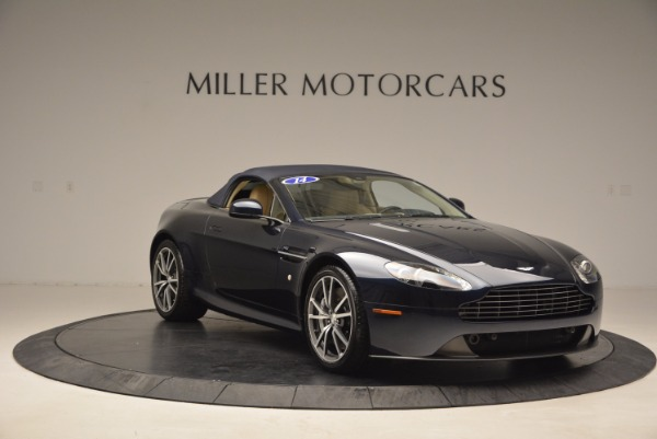 Used 2014 Aston Martin V8 Vantage Roadster for sale Sold at Alfa Romeo of Greenwich in Greenwich CT 06830 18
