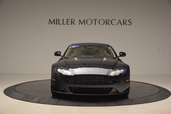Used 2014 Aston Martin V8 Vantage Roadster for sale Sold at Alfa Romeo of Greenwich in Greenwich CT 06830 19