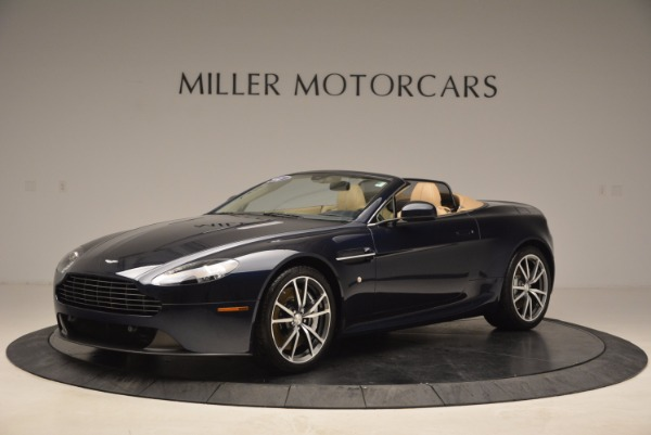 Used 2014 Aston Martin V8 Vantage Roadster for sale Sold at Alfa Romeo of Greenwich in Greenwich CT 06830 2