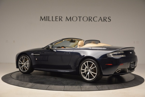 Used 2014 Aston Martin V8 Vantage Roadster for sale Sold at Alfa Romeo of Greenwich in Greenwich CT 06830 4