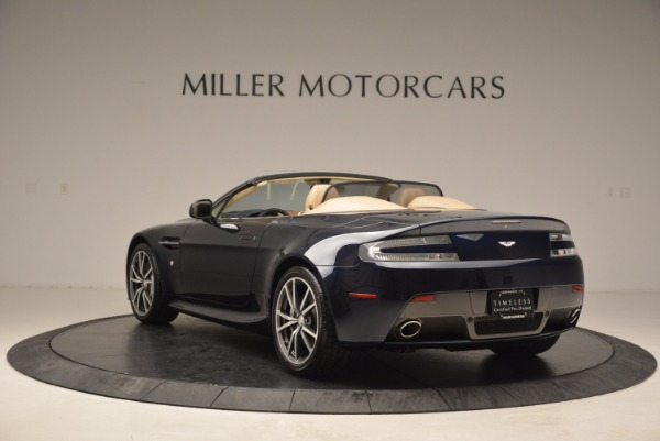 Used 2014 Aston Martin V8 Vantage Roadster for sale Sold at Alfa Romeo of Greenwich in Greenwich CT 06830 5