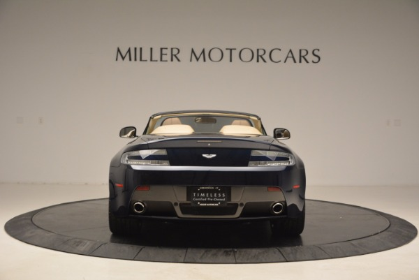 Used 2014 Aston Martin V8 Vantage Roadster for sale Sold at Alfa Romeo of Greenwich in Greenwich CT 06830 6