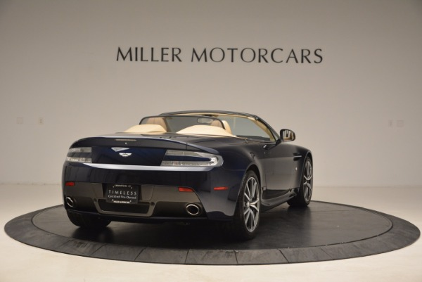 Used 2014 Aston Martin V8 Vantage Roadster for sale Sold at Alfa Romeo of Greenwich in Greenwich CT 06830 7