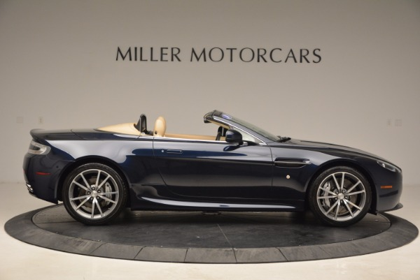 Used 2014 Aston Martin V8 Vantage Roadster for sale Sold at Alfa Romeo of Greenwich in Greenwich CT 06830 9
