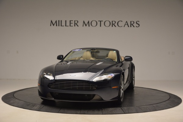 Used 2014 Aston Martin V8 Vantage Roadster for sale Sold at Alfa Romeo of Greenwich in Greenwich CT 06830 1