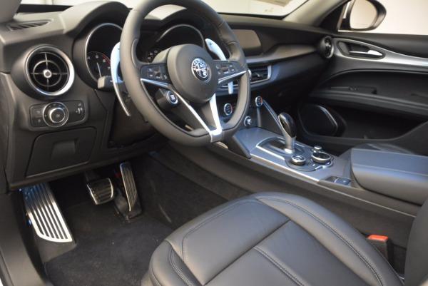 New 2018 Alfa Romeo Stelvio Sport Q4 for sale Sold at Alfa Romeo of Greenwich in Greenwich CT 06830 13