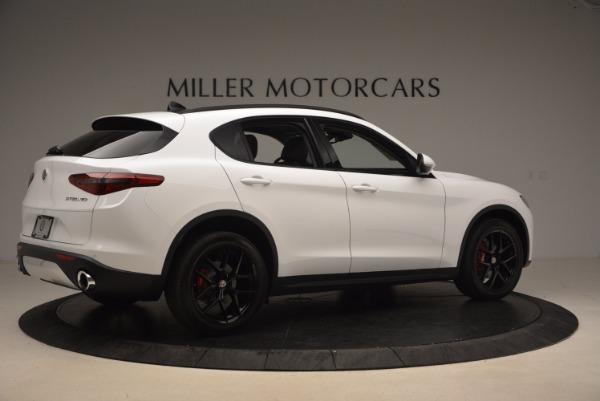 New 2018 Alfa Romeo Stelvio Sport Q4 for sale Sold at Alfa Romeo of Greenwich in Greenwich CT 06830 8