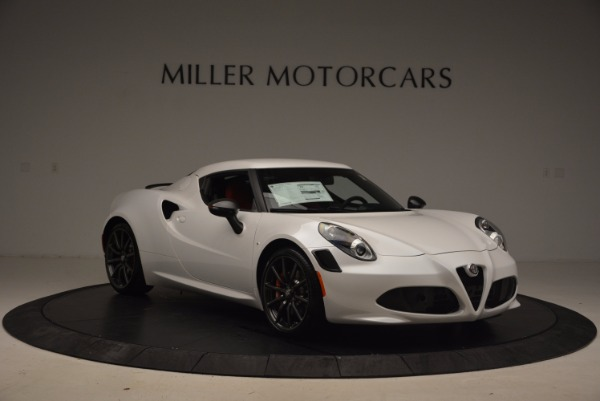 New 2018 Alfa Romeo 4C Coupe for sale Sold at Alfa Romeo of Greenwich in Greenwich CT 06830 11