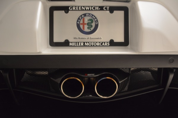 New 2018 Alfa Romeo 4C Coupe for sale Sold at Alfa Romeo of Greenwich in Greenwich CT 06830 22