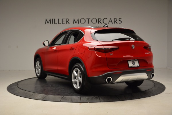 New 2018 Alfa Romeo Stelvio Q4 for sale Sold at Alfa Romeo of Greenwich in Greenwich CT 06830 5